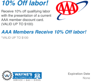 10 Percent Off Labor