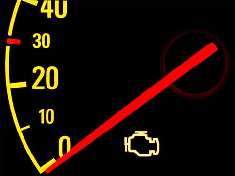 A Check Engine Light is a sign it's time to visit the diesel repair pros.