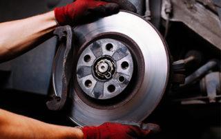 Tuning a worn disc brake