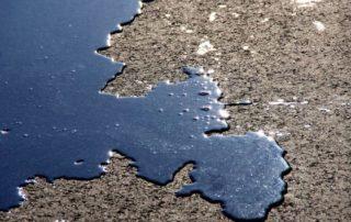 car oil leak