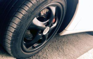 car wheel curb