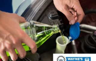 Filling Windshield Wiper Fluid With The Correct Type Of Fluid - Reno and Sparks