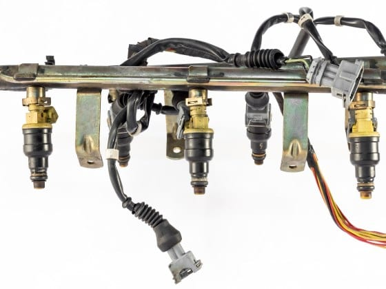 picture of a direct fuel injection system