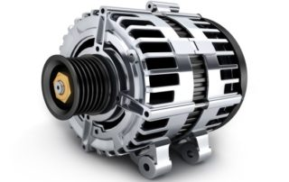 alternator for a car