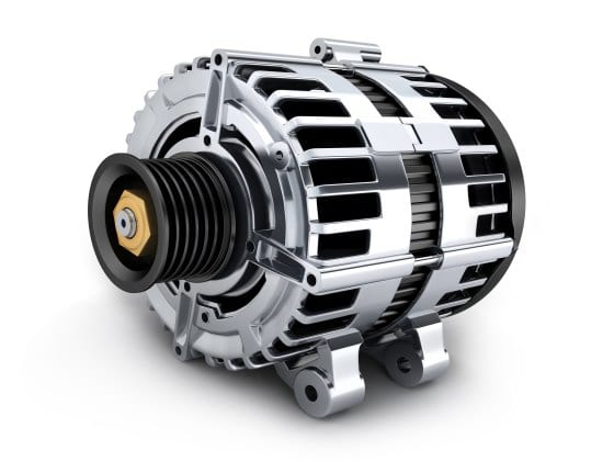 alternator for a car