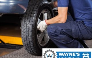 Technician Repairing A Tire In Reno And Sparks