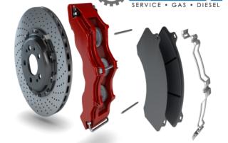 brake parts rotor caliper and pad